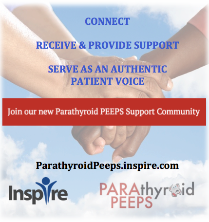 Parathyroid Peeps Become a Community Partner on Inspire